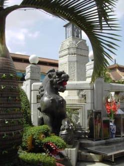 Reizvoller Innenhof im Cho Ben Tanh Markt - Ben-Thanh-Markt