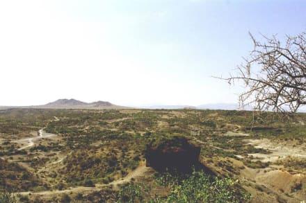 Olduvia Schlucht - Olduvai-Schlucht