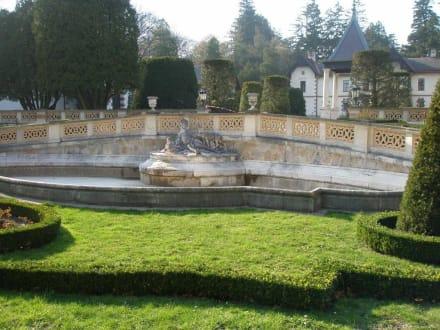 Hermesvilla im Lainzer Tiergarten in Wien - Lainzer Tiergarten