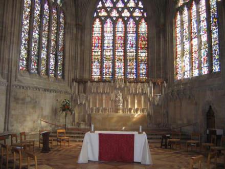 Kathedrale, Seitenaltar - Wells