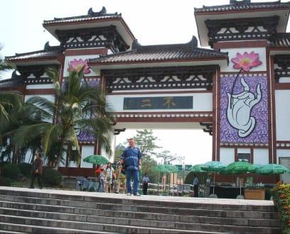 Nanshan Tempel - Tempel-Anlage in Nanshan