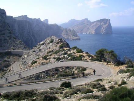 Auf dem Weg zum Cap de Formentor - Cap Formentor