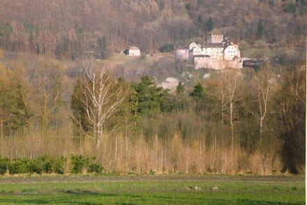 Schloss Vaduz im Lichtenstein - Schloss Vaduz