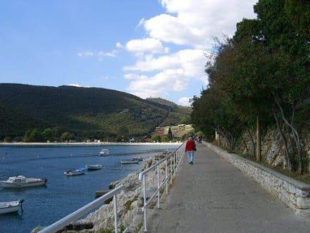 Promenade - Strandpromenade Rabac