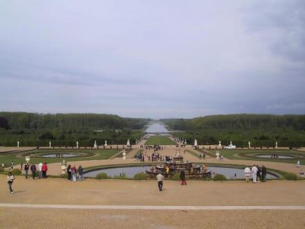 Versailles Garten - Schloß Versailles