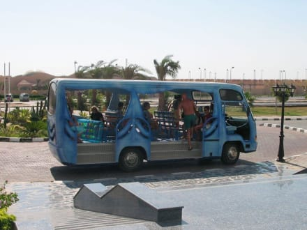 Shuttle -Bus zum Strand und weiteren Hotels - Transport