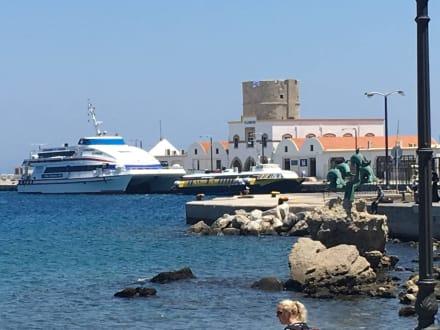 Hafen von Rhodos - Hafen Rhodos