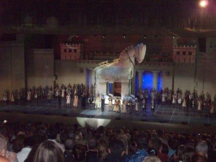 Troja - Theater von Aspendos