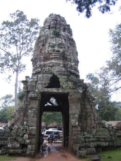 Der Eingang zum Tempel von innen. - Tempel Ta Prohm