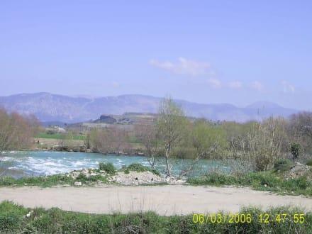 Manavgat - Fluss und Wasserfall - Manavgat Wasserfälle