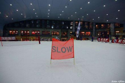 Skihalle das Ende - Ski-Dubai Halle (Mall of the Emirates)