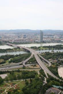Aussicht vom Donauturm - Donauturm
