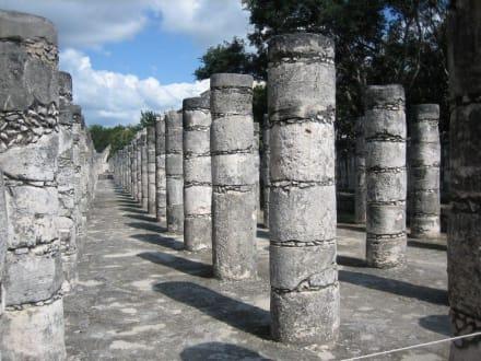 Chichen Itza - 1000 Säulen - Ruine Chichén Itzá