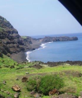 Westküste von Fogo - Fogos Küste bei Atalaia