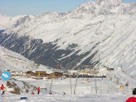 Skigebiet Kaunertal - Kaunertaler Gletscher
