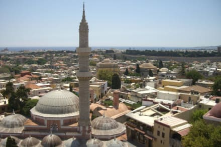 Blick vom Clocktower über die Altstadt - Altstadt Rhodos Stadt