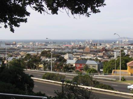 """Blick auf Kapstadt vom Hotel """"Garden Court"""" aus. - Zentrum Kapstadt"""