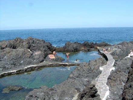 Küste Garachico - Meeresschwimmbecken