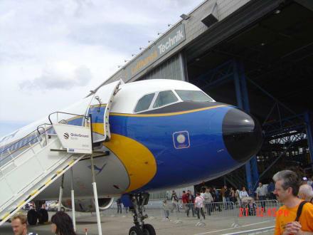 Lufthansa D-AIRX - ILA Berlin Air Show