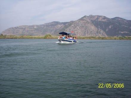 Flussfahrt - Bootstour Dalyan