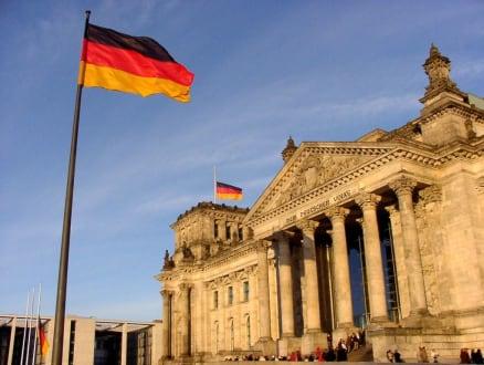 Reichstag im Januar - wie eine Postkarte! - Bundestag / Reichstag