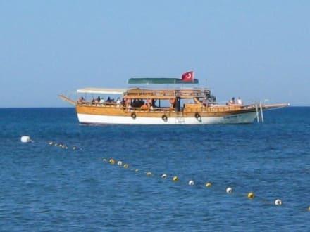Das Schiff - Flussfahrt Manavgat