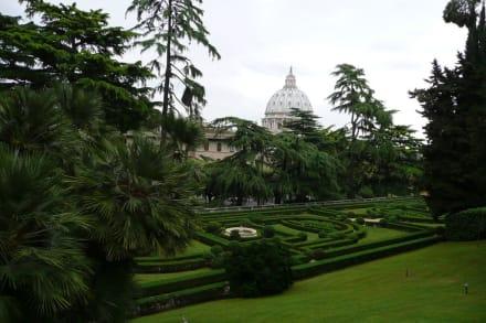 Sonstige Sehenswürdigkeit - Vatikanische Gärten