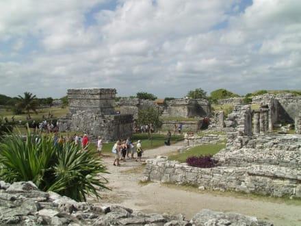 Mexiko, Tulum - Ruinen von Tulum