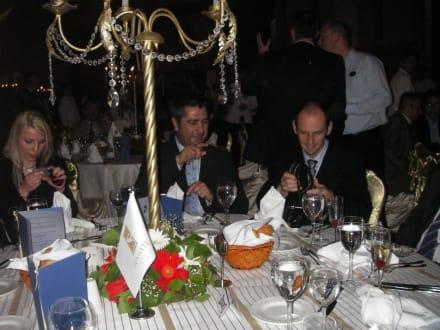 Darina Parvova, Salvador Elena und Hakan Öktem - HolidayCheck Award Gala