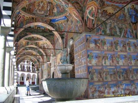 Rilakloster - Säulengang - Rilakloster