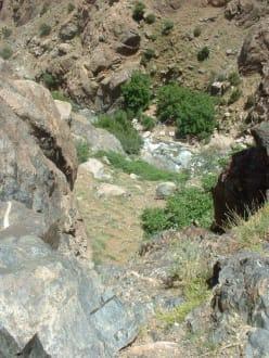 Aufstieg - Tal von Ourika