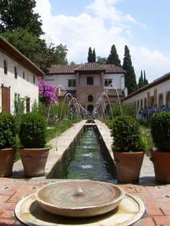 Gartenanlage - Alhambra
