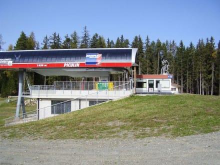 Piz da Plaies - Bergstation Piculin - Wandern St. Vigil in Enneberg