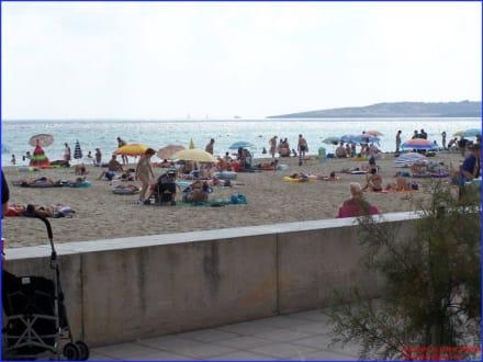 Blick auf Strand von Cala Millor - Strand Cala Millor