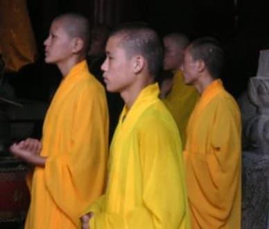 Mönche in Shaolin - Shaolin Kloster
