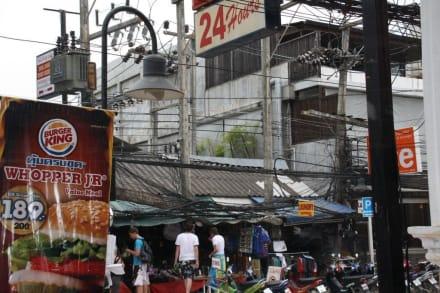 Teil der Stadt - Chaweng Town
