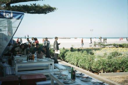 Fast-food auf marokkanisch - Fischmarkt im Hafen