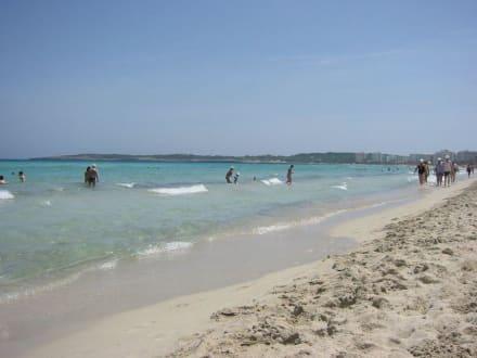 Der Strand - Strand Cala Millor