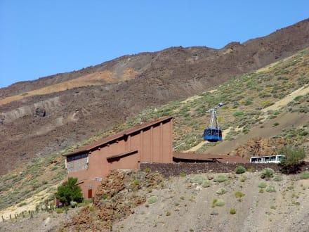 Teide Seilbahnstation - Teide Nationalpark
