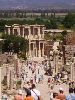 Die Celsus-Biblithek von Ephesus - Antikes Ephesus