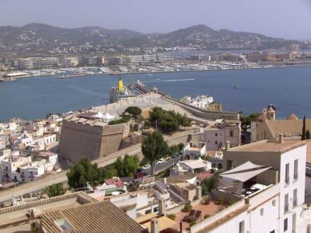 Blick von Dalt Vila - Altstadt Dalt Vila Ibiza