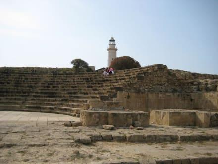 Teil des Odeons mit Leuchtturm - Odeon, Asclepieion & Agora