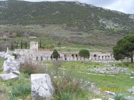 Von der Hafenstrasse! - Antikes Ephesus