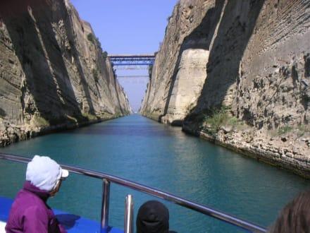 Schifffahrt durch den Kanal von Korinth - Kanal von Korinth