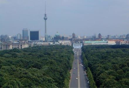 Berlin,Siegessäule - Berliner Tiergarten