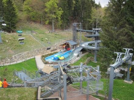Wasserattaktion  - Steinwasen Park