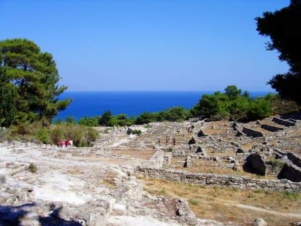 Antikes Kamiros - Ausgrabung Kamiros Skala