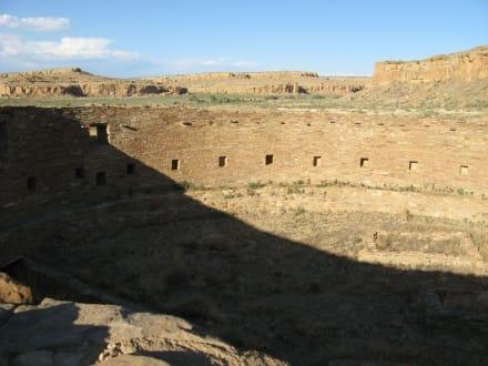 Casa Rinconada im Chaco Canyon: die große Kiva - Chaco Culture National Historical Park