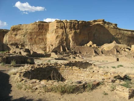 Pueblo Bonito im Chaco Canyon - Chaco Culture National Historical Park