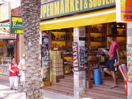 Shopping Center in El Arenal - Einkaufen & Shopping